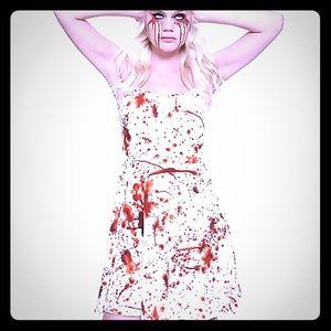 Horror Halloween Blood Dress